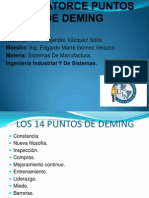 Los Catorce Puntos de Deming