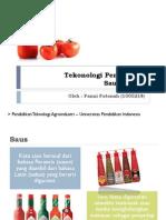Teknologi Pengolahan Saus Tomat