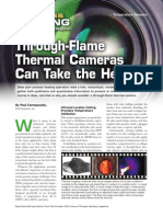 Through Flame Thermal Cameras