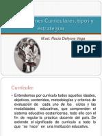 Adecuaciones Curriculares, Tipos y Estrategias