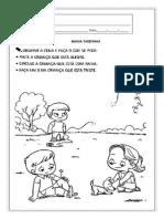 Atividade Para O Maternal Prontas Para Imprimir