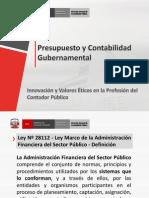 Contabilidad Gubernamental Peru