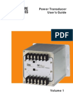 Power Transducer Users Guide Moore Industries