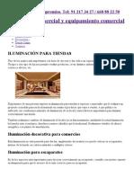 Iluminación de tiendas con lámparas tradicionales o iluminación led.pdf