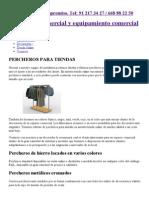 Percheros para tiendas. Comercios de ropa y cualquier negocio.pdf
