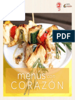 Menus Con Corazon 2013