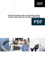 Extend the Business Value of Outsourcing-white Paper