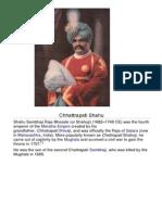 Chhattrapati Shahu