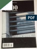 2600 Hacker Quarterly Volume 16 Number 4 Winter 1999-2000