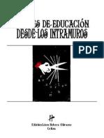 Breves de Educación Desde Los Intramuros