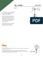 Biconical Antenna 30MHz - 300MHz