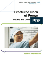 Fractured Neck of Femur