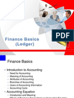 Finance Basics Ledger