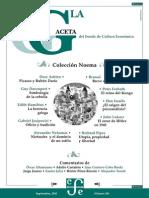 La Gaceta - Septiembre 2002 - Coleccion Noema