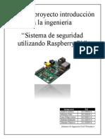 Sistema de Vigilancia Tutorial Rpi 1