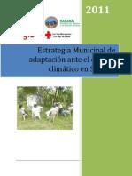 Estrategia Municipal de adaptación ante el cambio climático en Somoto, Madriz, Nicaragua