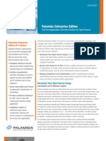 Palamida DataSheet Enterprise Edition
