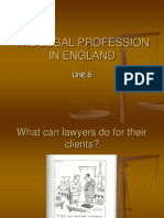 Legal Profession in England13