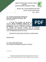 Carta de Terminacion
