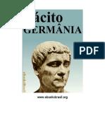 Germânia. Cornélio Tácito