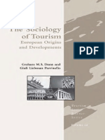 The Sociology of Tourism - European Origins and Developments