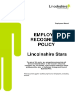 Employee Recognition Scheme