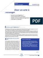 FFE FO3 Faire Légaliser Un Document