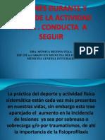 Conferencias de 1eros Auxilios.