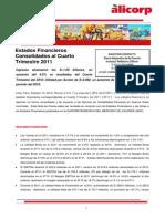 ALICORP Estados Financieros 04T12 14-02-12