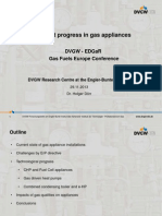 Dörr Recent Progresses Gas Appliances 2013