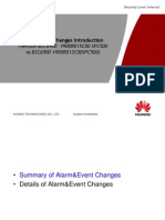 Material for BSC6900 GSM Alarm&Event Changes From GBSS13.0 to GBSS15.0 02(2013!04!28)