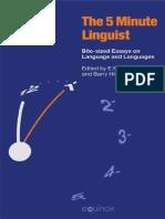 Five Minute Linguist