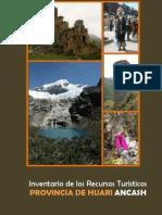 Invent a Rio de Los Recursos Turistico de La Provincia de Huari_Completo