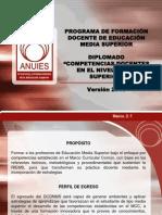 Contenidos DCDNMS Versión 2013