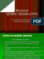 Sesmic Structural Design Steps