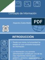 Concepto de Información