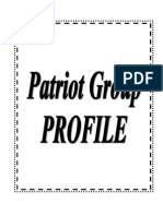 Patriot Group – Garment Manufacture