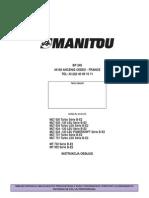 Manitou MLT 630 634 731 MT 732 932 Instrukcja Obsługi