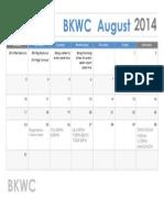 BKWC August