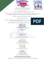 IEWA 2014 Fall Folkstyle Schedule