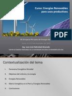 Energias Renovables Paar Usos Productivos_Peru