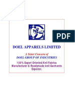 Doel Group - Doel Apparels Limited