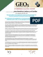 2. GEO 5 Resumen America Latina