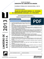 Www.copeve.ufal.Br-sistema-Anexos-Prefeitura Municipal de Limoeiro de Anadia - 2013-Prova - Cargos Diversos - Nivel Fundamental Incompleto - Tipo 1.PDF