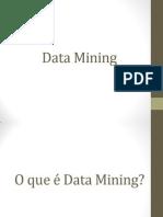 Apresentação - Data Mining