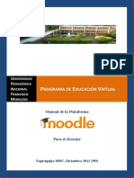 Manual Moodle Docente