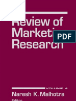 0765620928 Marketing Research, Volume 4