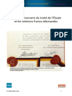 Relations Franco-Allemandes (Texte)