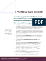 Guidelines for PTSD