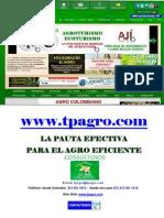 LA PAUTA EFECTIVA PARA EL AGRO EFICIENTE